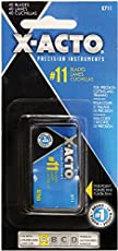 X-ACTO #11 Classic Fine Point Replacement Blades, Pack of 40 (X711)
