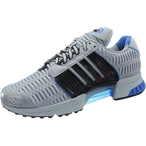 Adidas BB0539 Herren Training Schuhe, Mehrfarbig (Schwanrz/Grau/Blau),42