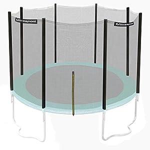 Ultrasport filet de sécurité pour trampoline de jardin Ultrasport jumper Wave en vert, 430cm