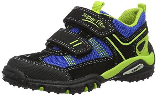 Superfit Jungen Sport4 Sneakers Schwarz (Schwarz Multi 03)