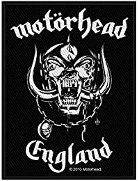 Official Licensed Merchandise - Motorhead 'England' Woven Sew On Patch