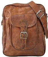 Bolso bandolera Gusti Leder H48 de piel de estilo vintage (tamaño pequeño)