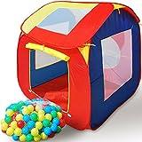 Tienda-de-Juegos-200-Bolas-Casita-Infantil-Casa-para-Jugar-Igl-Beb-Nios-para-Interior-y-Exterior