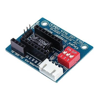 Demiawaking 3D Drucker A4988 DRV8825 Schritt Motortreiber Steuerplatine Erweiterungskarte