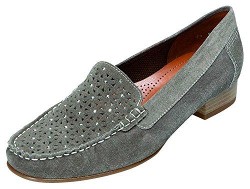 Jenny , Chaussures de ville à lacets pour femme gris grigio Weite G grigio Weite G