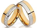 2 de alianzas y corazones Póster con anillos de...