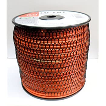 Ratioparts Nylonfaden 2,0 mm Alu-Cut 130 m Trimmerfaden 6-Kant Orange M/ähfaden