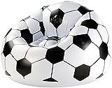 Aufblasbarer Fußballsessel Soccer Ball, Clubsessel im coolen Lounge-Style (Fussball)