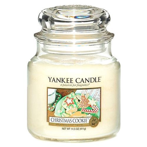 Yankee Candle Candela Giara Media, Christmas Cookie