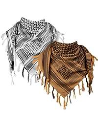 Bufanda turquesa azul del desierto LOVARZI keffiyah elegante moda shemagh bufandas para hombres y mujeres