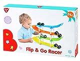 Playgo 2266 - Flip & Go Racer Kugelbahn mit Auto für Kleinkind