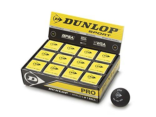DUNLOP Pro Bälle, 12 Stück