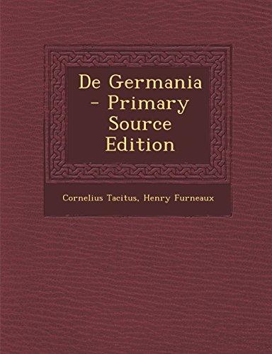 de Germania - Primary Source Edition