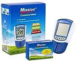 3 in1 Mission Cholesterin-Messgerät inkl. 5 Teststreifen