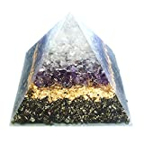 emotion & design Orgonit Piramide - Pietre preziose e Molto Ottone