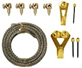 OOK 59985 10 Piece Precise Height Picture Hanging Kit by OOK