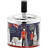 Promobo - Cendrier Push Imprimé City Déco Londres London