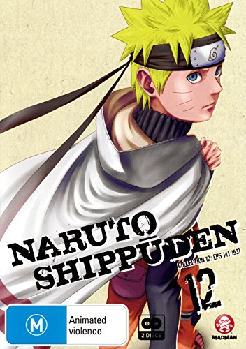 Naruto Shippuden - Collection 12 [Eps 141-153] [NON-USA Format / PAL / Region 4 Import - Australia]