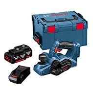 Bosch GHO18VLI 18v Lithium-Ion Planer with 2 x 5.0ah Batteries
