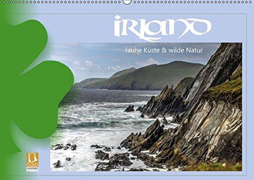 Irland - Rauhe Küste und Wilde Natur (Wandkalender 2019 DIN A2 quer): Irland - ein Land voller Mystik und faszinierender Landschaften entlang des Wild ... (Monatskalender, 14 Seiten ) (CALVENDO Orte)
