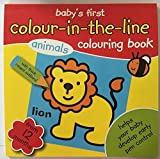My Colouring Book Baby\'s First Colouring Book Colour in the line From 12 Months+