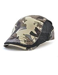Sombrero de copa plano Ocio Retro Hat Gorra de golf Sombrero de Sol Deporte al Aire Libre Primavera Verano para Unisex Hombre Mujer