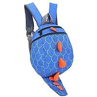 ZHUANNIAN Toddler Dinosaur Backpack Children Reins Harness(Blue)