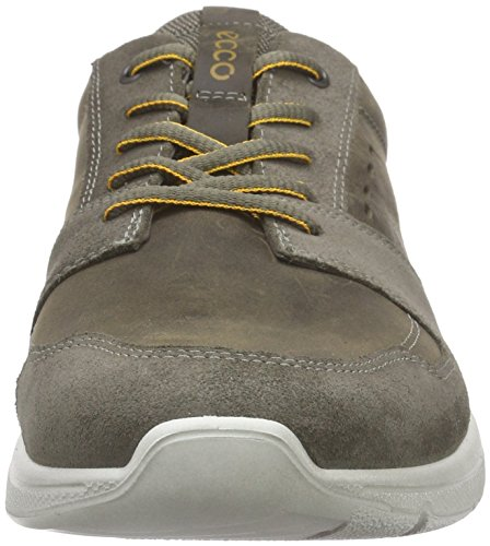 Ecco Irondale, Baskets Basses Homme Vert (WARM GREY/TARMAC55911)