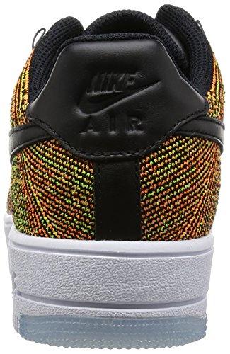 Nike Herren Af1 Ultra Flyknit Low Basketballschuhe Amarillo (Amarillo (volt/black-total orange-white)) EuEEXn0u