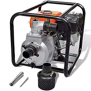 Arichtop – Bomba de Agua a Gasolina (50 mm, conexión de Manguera, 5,5 CV), Metal, As Shown2, 80 mm