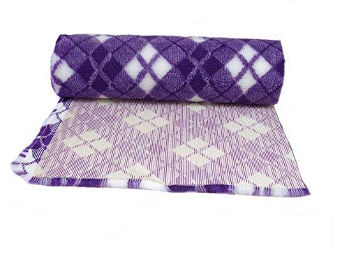 pnh-tapis-veterinaire-antiderapant-parure-de-litr-rouleaux-3-m-x-75-cm-tartan-violet-blanc
