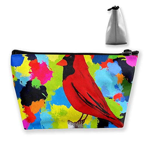 Tragbare Reisetasche Cardinal Birds Multicolord Cosmetic Bags ()