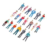 Homyl 1:50 Stehende HO Menschen Figuren Modell