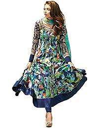 Karishma Creation Women's Multi Designer Banglory Lahenga Choli [Free Size_SL 39 [KC_101]]