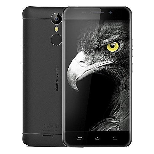 "Haehne Ulefone Metal, 5,0"" HD 4G Smartphone, Android 6.0 Octa Core 3GB+16GB, 5MP+13MP Duales Cámaras, Huella Dactilar Estela Inteligente, Dual SIM, Negro"