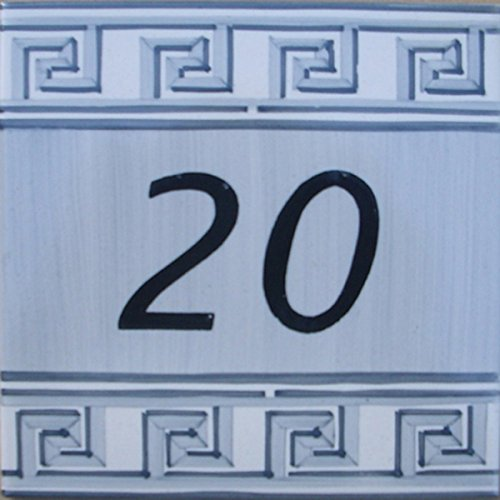 Azul'Decor35 Startseite Platte von Hand bemalt Fayencen - Wählen Sie Ihre Nummer!