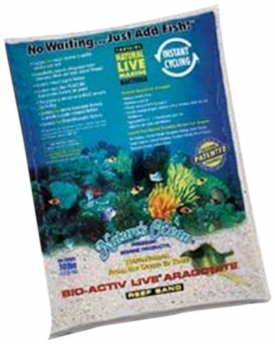 Worldwide Imports AWWA20701 4-Piece Live Aragonite Sand for Aquarium Decor, 10-Pound 1