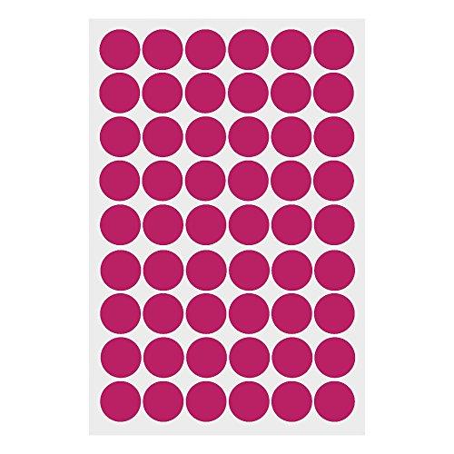 VANKER Vinilo Decorativo Pegatina Pared de Ronda de círculo de arte para dormitorios,cocina,sala y ventana ect (Melocotón)