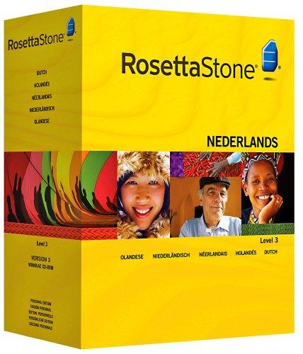 Rosetta Stone Version 3: Niederländisch Stufe 3 Persönliche Edition inkl. Audio Companion