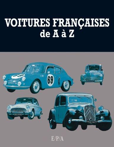 Voitures francaises de A à Z par Patrick Lesueur