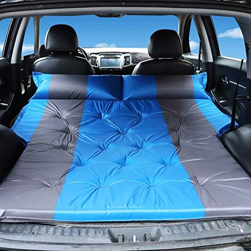 CONRAL Auto Luftmatratze, SUV Reise Aufblasbare Matratze Luftbett Gewidmet, Ultra Große Doppel Mobile Kissen, Erweiterte Outdoor Camping Zelt, Twin Size Luftmatratze,Blue1 (Outdoor-matratze-kissen)