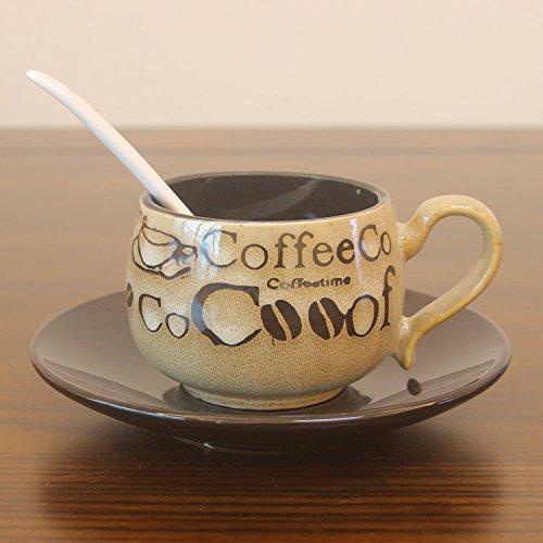 TIANLIANG04 Becher、Kaffeetassen Antike Kaffeetasse Keramik Tasse Milch Tasse Tee Am Nachmittag...