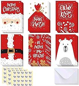 Paquete de 48 tarjetas de