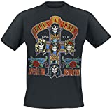 Guns N Roses Tour 1988 T-Shirt Black