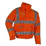 """Lyngsoe Fr-lr235-05-s """"MicroFlex ignifugées"""" Winter-rain Veste, haute visibilité Orange, petite"""
