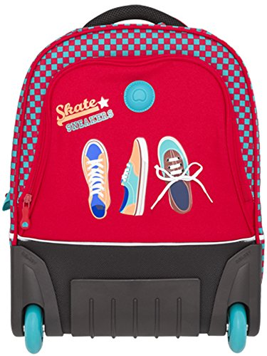 delsey-mochila-trolley-junior-rojo