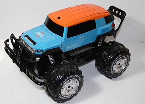 Unbekannt RC 2,4 Ghz. Amphibien Monster Truck Amphibious 4WD CC Auto Amphibienfahrzeug fährt an Land und im Wasser