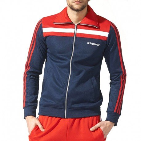 Preisvergleich Produktbild Adidas 83 Europa TT Jacke XXL collegiate navy