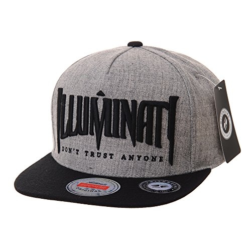 WITHMOONS Baseballmütze Mützen Caps Snapback Hat Illuminati Embroidery Hip Hop...