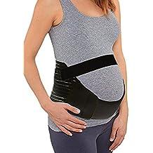Las mujeres embarazadas tzbandage St u / espalda y abdomen für Rtel für tzg St S / M / l o XL de tamaño XXL / blanco / negro.